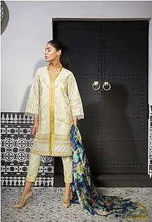 MAHGUL BY AL ZOHAIB Luxury Embroidered Lawn Suit MGLW 8B in Pakistan