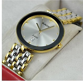 Rado Florence Gold And Silver Date Watch in Pakistan