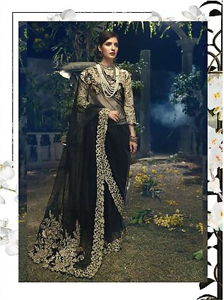 ITTEHAD TEXTILES Formal Embroidered Chiffon Suit IRFC18 05 in Pakistan
