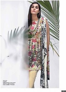 AL KARAM Embroidered Lawn Suit AK18 F21BK in Pakistan