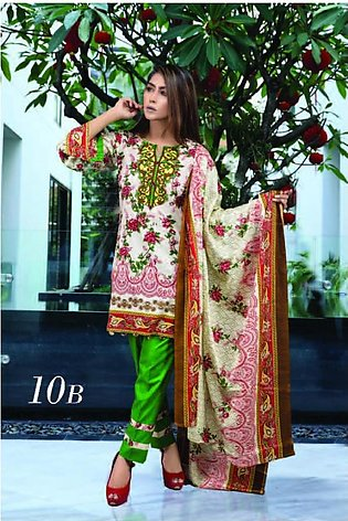 MONSOON BY AL-ZOHAIB Printed Lawn Suit MSPL18 10B in Pakistan