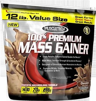 Muscletech 100% Premium Mass Gainer 12 Lbs (Weight Gainer) in Pakistan