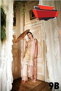 SOBIA NAZIR Embroidered Lawn Suit SNL18 9B in Pakistan