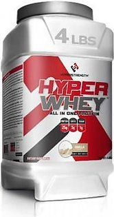 Hyperstrength Hyper Whey All in One Protein 4Lbs Supplements in Pakistan