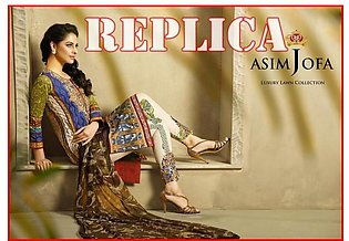 Asim Jofa Printed And Embroidered Lawn Suit J16 3B RP in Pakistan