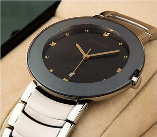 Rado Florence Silver And Black Watch in Pakistan
