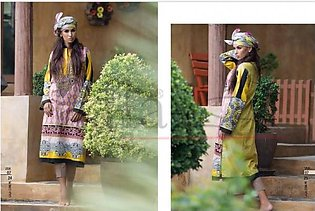 LALA TEXTILES Embroidered Shirt Piece With Stole VTK 7 in Pakistan