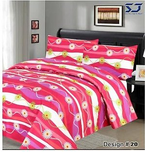 Fine Print Bed-Sheet #20 in Pakistan