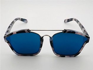 Christian Dior Blue Glass And Cheetah Print Frame Sunglasses in Pakistan