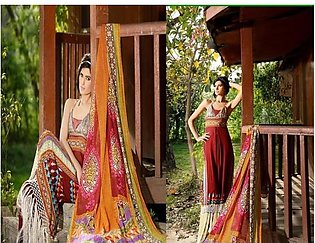 Firdous Textiles Embroidered Suit FDV10B in Pakistan