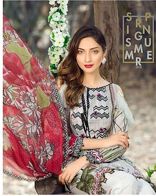 MARJAAN BY SIFONA Digital Printed Embroidered Lawn Suit MJDL18 09 in Pakistan