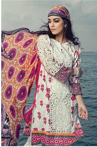 MARIA.B Embroidered Lawn Suit M16 2B in Pakistan