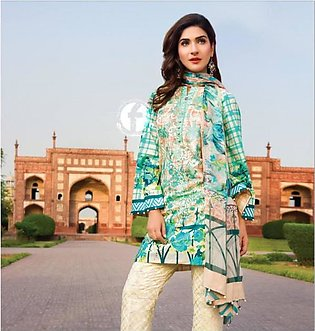 Excelencia Exclusive Embroidered Lawn Suit Festive Range By Firdous Textiles ...