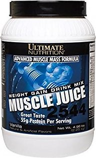 Ultimate Nutrition Advanced Muscle Mass Formula 55g Protein Per Servings Vanilla Supplement in Pakistan