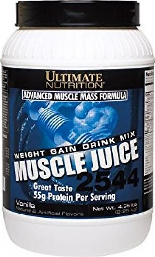 Ultimate Nutrition Advanced Muscle Mass Formula 55g Protein Per Servings Vani...