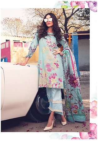 ROUGE BY RANG RASIYA Embroidered Lawn Suit ROUG 3B in Pakistan