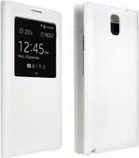Mobile Accessories Galaxy Note 3 Smart View Cover (White) in Pakistan