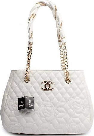 CHANEL Quilted Bowling White Handbag in Pakistan