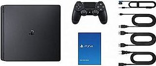 Sony PlayStation 4 Slim - 500GB - Region 3 - Black in Pakistan