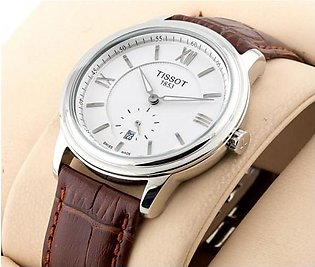 Tissot 1853 Classic Stylish White Dial Silver Case Watch in Pakistan