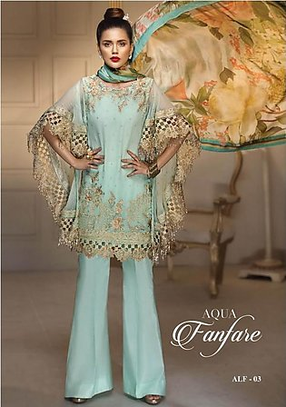 ANAYA BY KIRAN CHAUDHRY Embroidered Formal Suit ANYF18 03 in Pakistan
