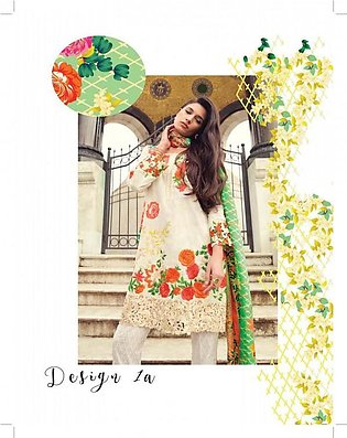 MINA HASAN BY SHARIQ Embroidered Lawn Suit MINA18 1A in Pakistan