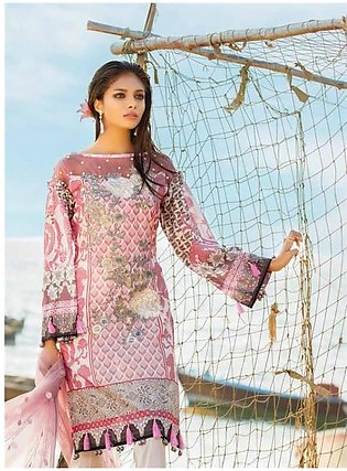 MARJAAN BY SIFONA Embroidered Lawn Suit MRJ18 08 in Pakistan