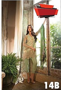 SOBIA NAZIR Embroidered Lawn Suit SNL18 14B in Pakistan