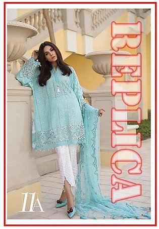 MARIA.B Embroidered Lawn Suit MB18 11A RP in Pakistan