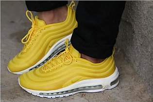 New Stylish Design Yellow Sport Shoes in Pakistan