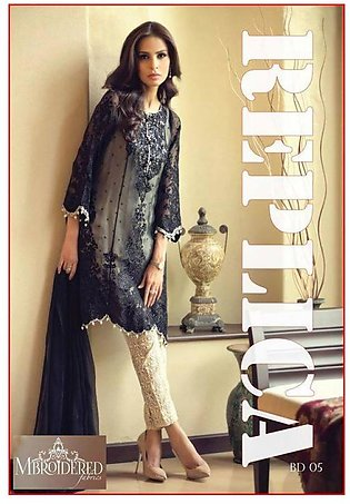 Maria B Chiffon Heavy Embroidered Suit RBD5 RP in Pakistan