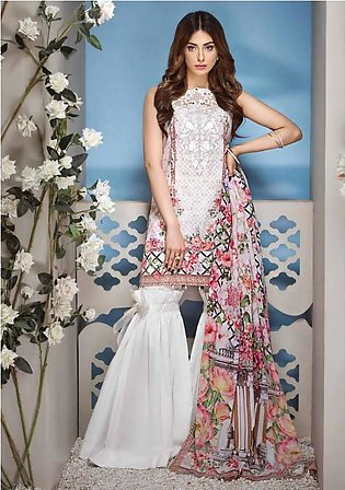 ANAYA BY KIRAN CHAUDHRY Embroidered Lawn Suit ANY18 11 in Pakistan