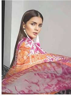 MAHGUL BY AL ZOHAIB Luxury Embroidered Lawn Suit MGLW 5B in Pakistan