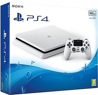 Sony PlayStation 4 Slim 500GB - White in Pakistan