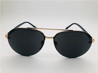 Gucci Black Glass Gold And Black Frame 42308 Sunglasses in Pakistan