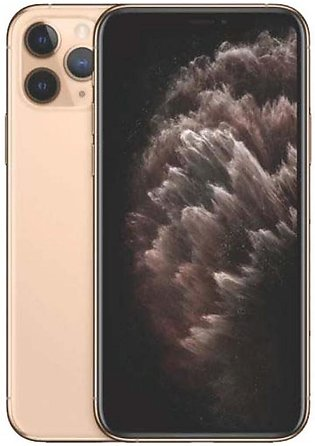 Apple iPhone 11 Pro 5.8 Inch 4GB RAM 64GB ROM Single Sim Gold Without Warrant...
