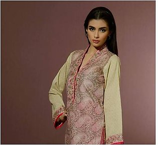 UMER SAYEED BY AL-KARAM Embroidered Shirt Piece AK 07P in Pakistan