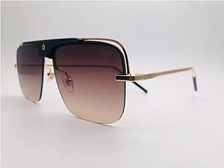 Dior Brown Glass And Gold Frame 42302 SUNGLASSES in Pakistan