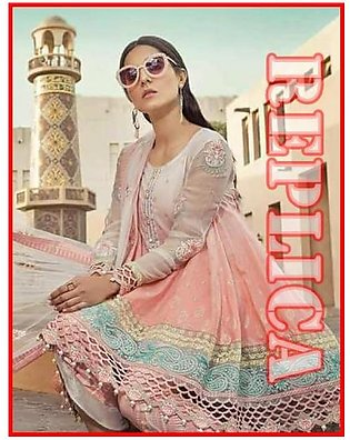 MARIA.B Embroidered Lawn Suit MB18 1A RP in Pakistan