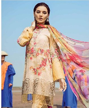 CHINON BY IZNIK Embroidered Lawn Suit CIZ18 10 in Pakistan
