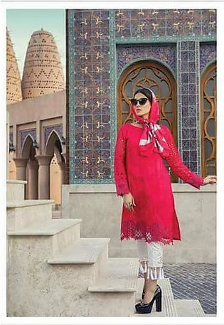 MARIA.B Luxury Embroidered Lawn Suit MBL18 3B in Pakistan