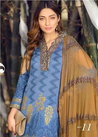 MARJAAN BY SIFONA Digital Printed Embroidered Lawn Suit MJDL18 11 in Pakistan