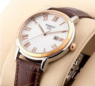 Tissot 1853 Classic White Dial Silver Case Watch in Pakistan