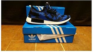 Adidas NMD Blue Black Sports Shoes in Pakistan