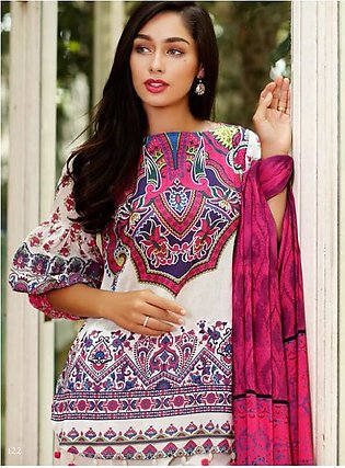 Al Zohaib Printed Lawn Suit SSPR18 01 in Pakistan