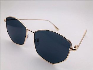 Gucci Black Glass And Gold Frame Sunglasses 54323 in Pakistan