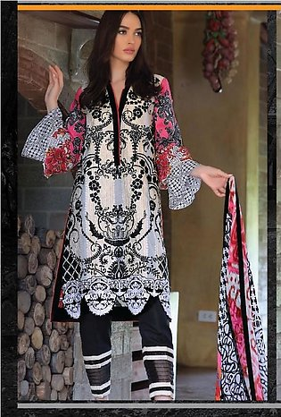 RANGOLI Embroidered Lawn Suit MSR18 05 in Pakistan