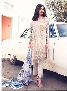 ROUGE BY RANG RASIYA Embroidered Lawn Suit ROUG 6B in Pakistan
