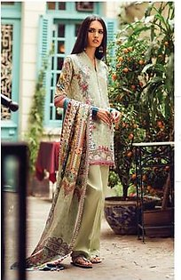 Zara Shahjahan Embroidered Lawn Suit ZS Chambeli in Pakistan