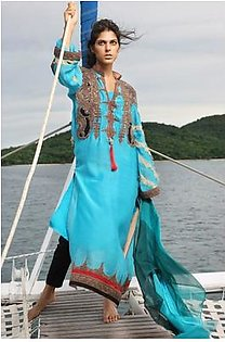Firdous Textiles Embroidered Suit FDN 9B in Pakistan